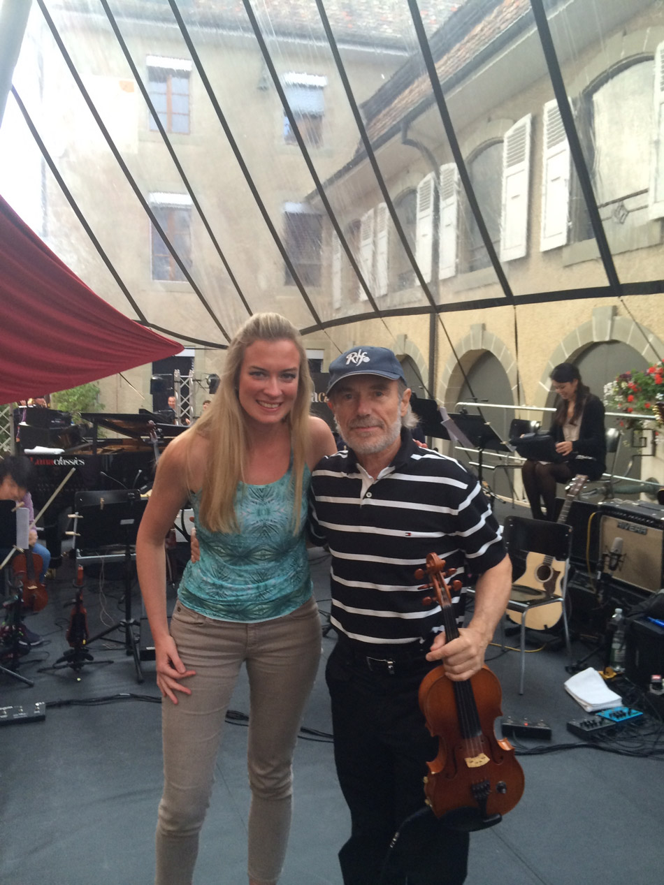 Lizzie Ball and Jean Luc Ponty