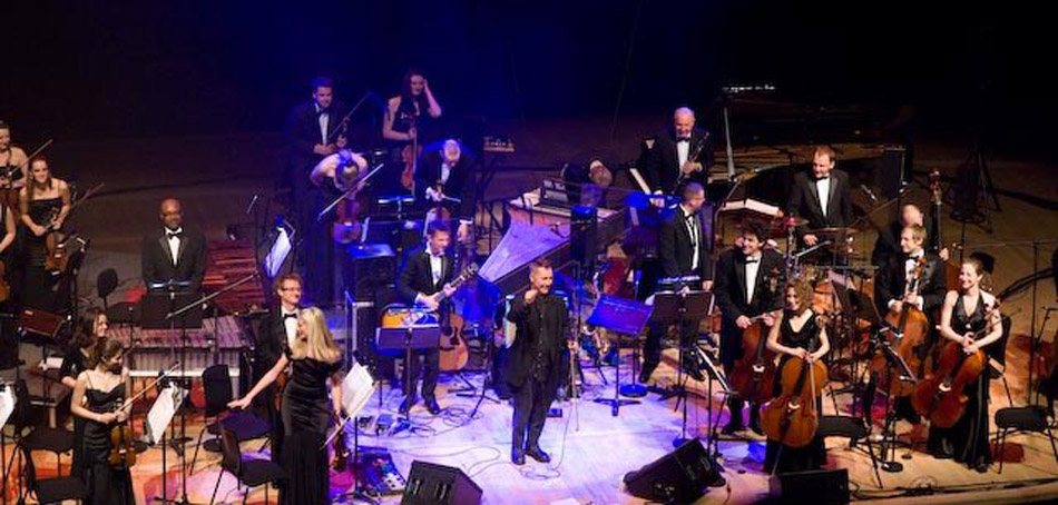 Lizzie and the Orchestra of life with nigel